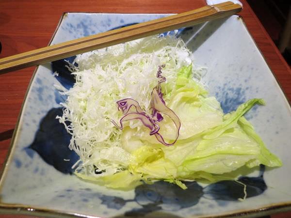 銀座杏子日式豬排@台北京站店, 餐點, 高麗菜