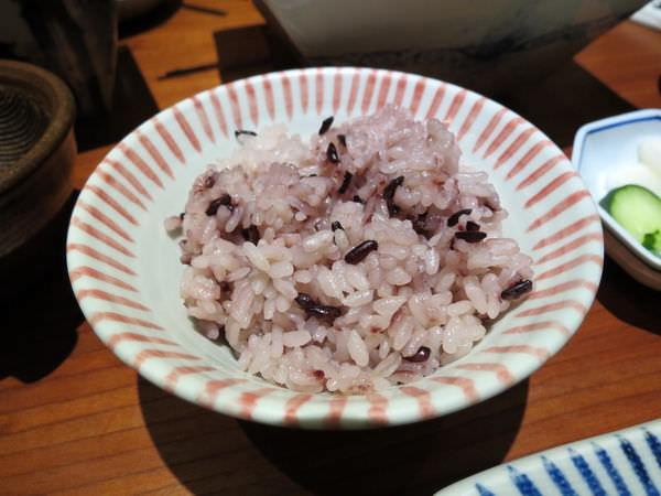 銀座杏子日式豬排@台北京站店, 餐點, 紫米