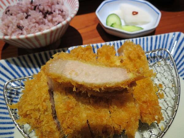 銀座杏子日式豬排@台北京站店, 餐點, 里肌肉豬排套餐