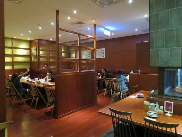 銀座杏子日式豬排@台北京站店, 用餐空間