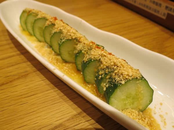 博多一風堂拉麵@信義三越A8店, 餐點, 一本!芝麻小黃瓜