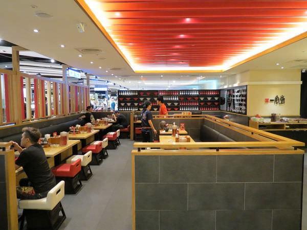 博多一風堂拉麵@信義三越A8店, 用餐環境