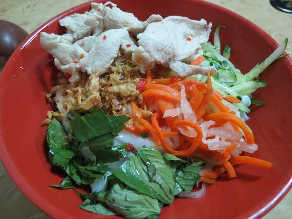 庭苑越南牛肉河粉, 涼拌雞肉河粉