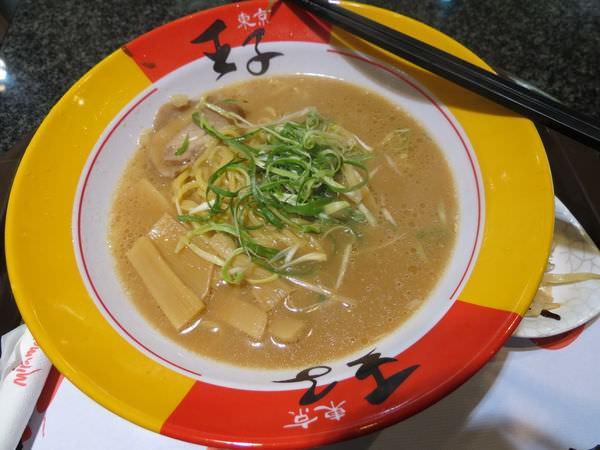 東京王子日式拉麵專賣(美麗華), 王子日式拉麵