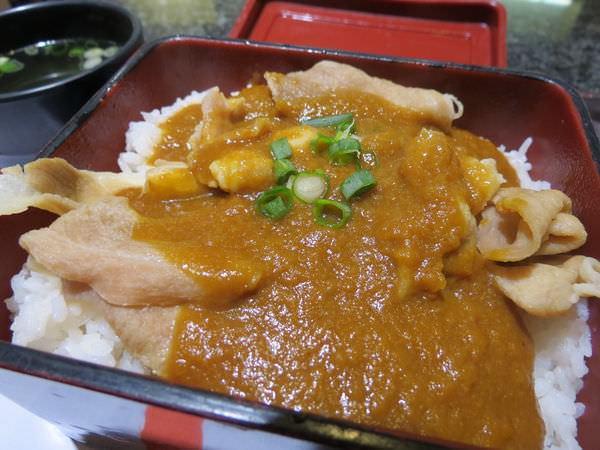 東京王子日式拉麵專賣@美麗華店, 咖哩豚肉丼飯