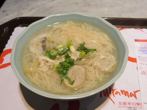 府城 台南美食(美麗華), 虱目魚麵線