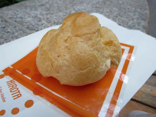 廣田洋菓子@美麗華店, 原味奶油泡芙