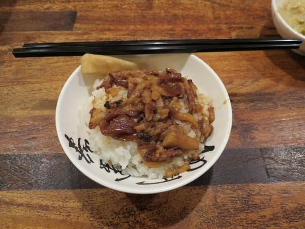 西門金峰魯肉飯(西門店), 香菇滷肉飯(小)