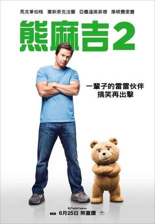 Movie, Ted 2 / 熊麻吉2 / 泰迪熊2 / 賤熊2, 電影海報