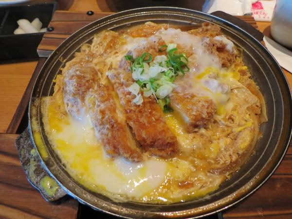 勝博殿日式炸豬排@台北中信店, 餐點, 鐵板雞排套餐