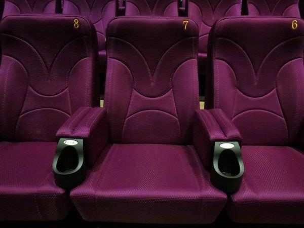 東南亞秀泰影城, 戲廳, 座椅