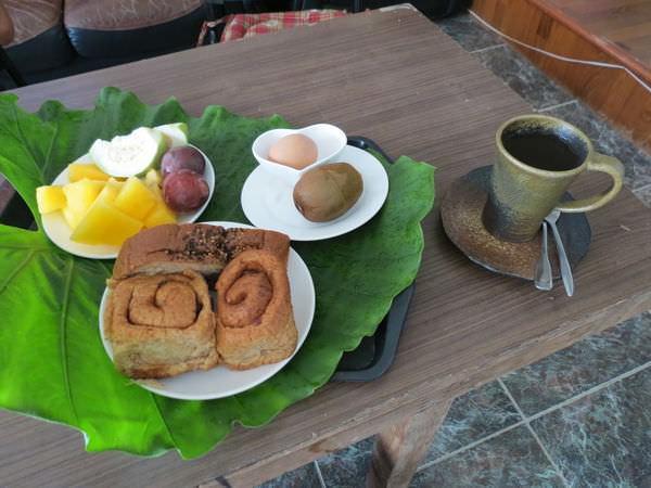 亞力民宿, 早餐
