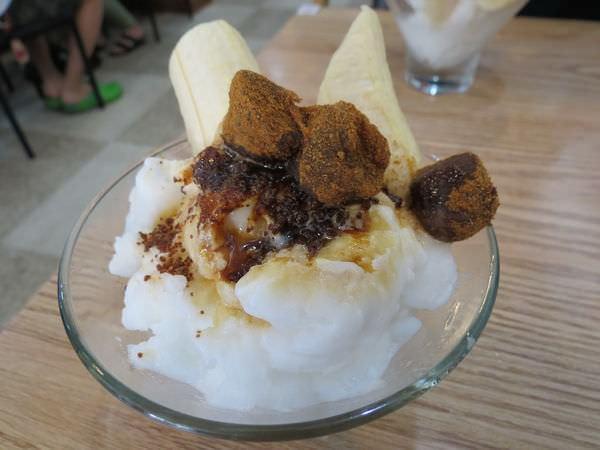 枝仔冰城(旗山總店), 香蕉黑糖冰
