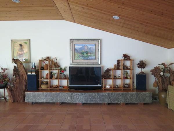 湖美茵民宿, 客廳