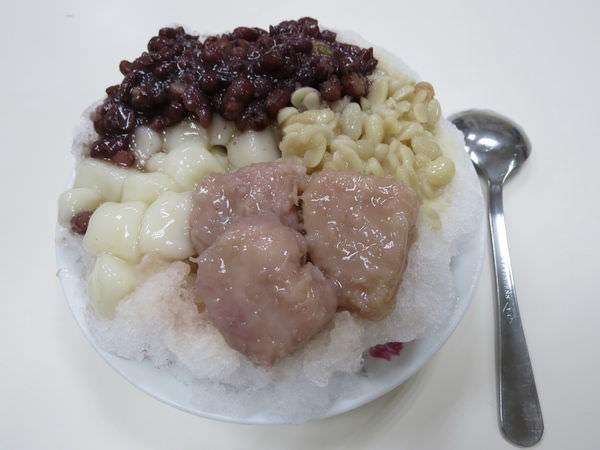 龍都冰菓專業家, 花生+紅豆+圓仔+芋頭