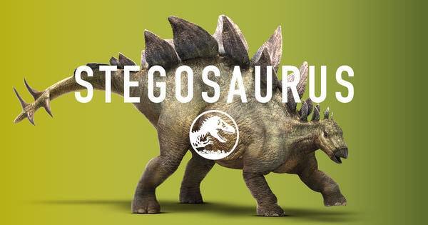 Movie, Jurassic World / 侏羅紀世界 / 侏罗纪世界, Stegosaurus / 劍龍