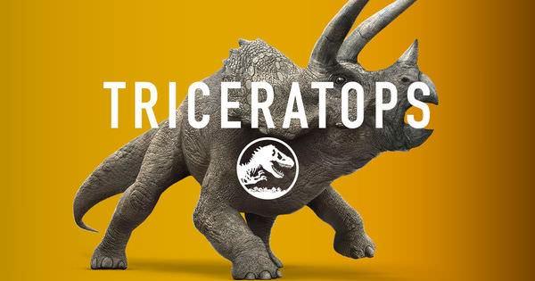 Movie, Jurassic World / 侏羅紀世界 / 侏罗纪世界, Triceratops / 三角龍