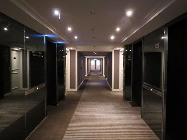 新竹老爺酒店, 樓層