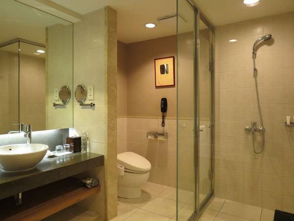新竹老爺酒店, 雅緻客房, 浴室