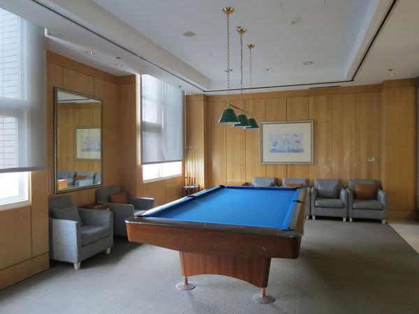 新竹老爺酒店, 撞球室