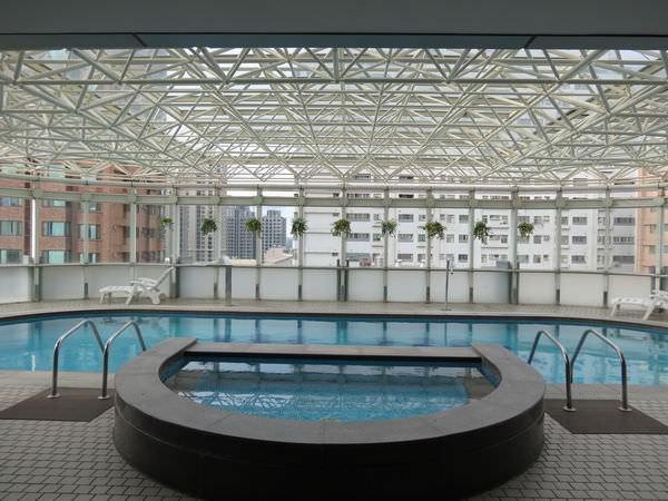 新竹老爺酒店, 游泳池
