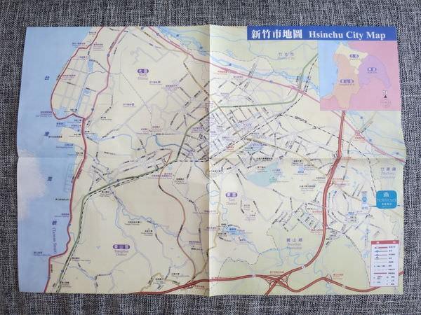 新竹老爺酒店, 地圖
