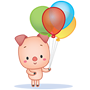 Facebook, 貼圖商店, Happy Birthday