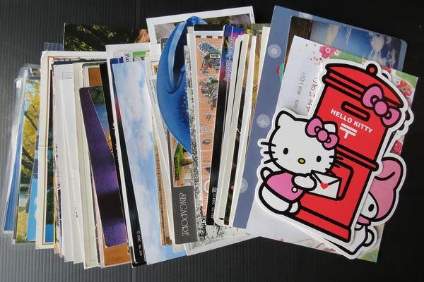 明信片收藏