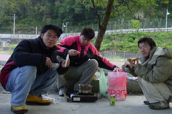 闖北橫Ⅱ 420 煮早餐吃