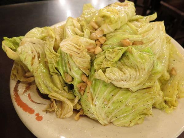 甕窯雞, 高麗菜芽