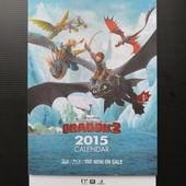 Movie, How to Train Your Dragon 2(馴龍高手2)(馴龍記2), 週邊商品, 桌曆, 封面