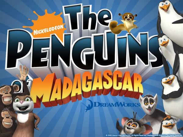 TV Series, The Penguins of Madagascar (馬達加斯加的企鵝), 海報