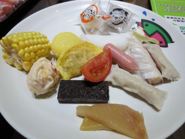 鮮友火鍋(新莊店), 火鍋料