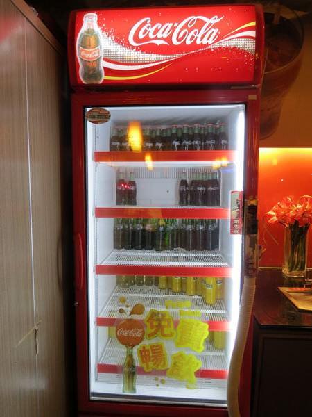 鮮友火鍋(新莊店), 可口可樂