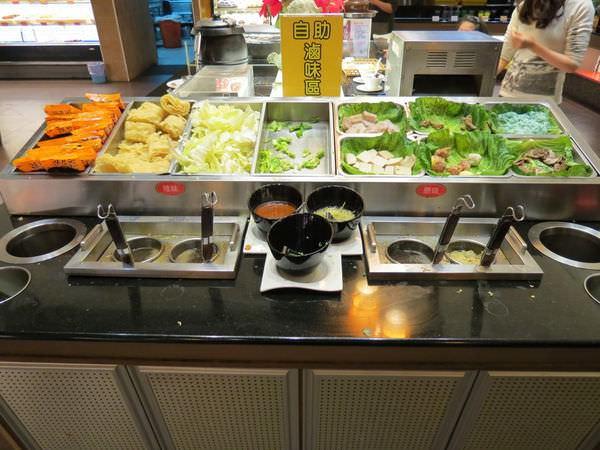 鮮友火鍋(新莊店), 自助滷味區