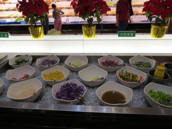 鮮友火鍋(新莊店), 沙拉吧區