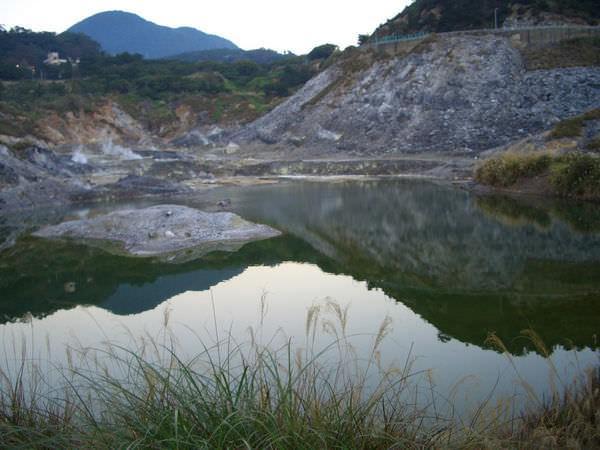 陽明山竹子湖 23-這是另一個正確的入口處,有一小湖