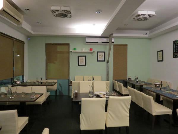 綠手指義式廚房, 用餐環境