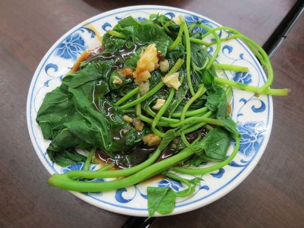 好康南洋風味小吃, 燙青菜