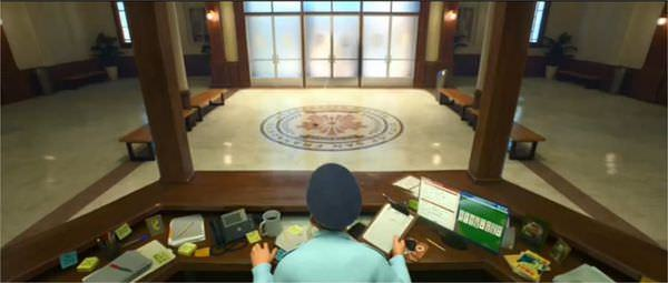 Movie, Big Hero 6 / 大英雄天團 / 超能陆战队 / 大英雄聯盟, 彩蛋, 警局