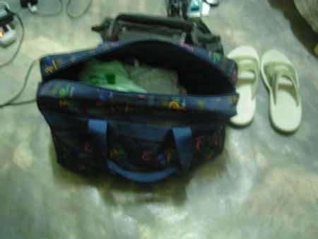 2005年環島, 後記, 包包