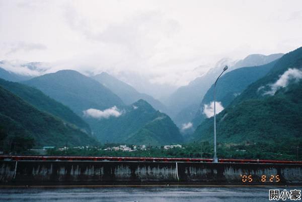 2005年環島, day6, 花蓮縣新城鄉(三棧溪)