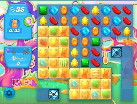 Candy Crush Soda Saga, 過關技巧, Level 90