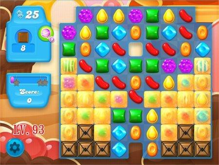 Candy Crush Soda Saga, 過關技巧, Level 93