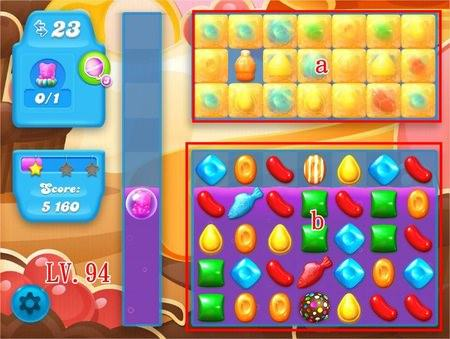 Candy Crush Soda Saga, 過關技巧, Level 94