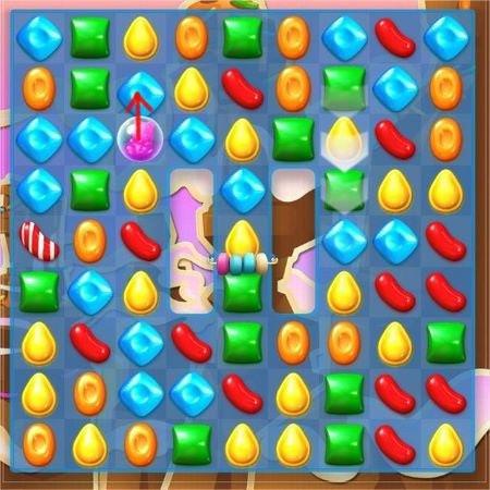 Candy Crush Soda Saga, 遊戲過關技巧, 弄清除糖果移動方向