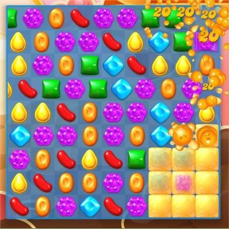 Candy Crush Soda Saga, 遊戲過關技巧, (蜂蜜)以小熊為優先目標