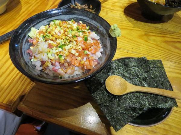 十盛平價板前壽司屋, 五色散壽司