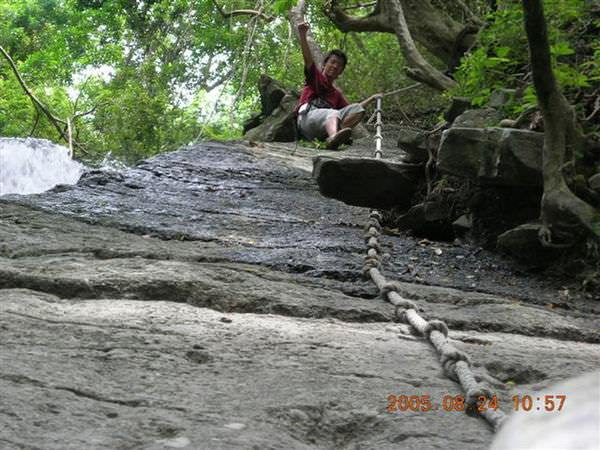 2005年環島, day5, 七孔瀑布