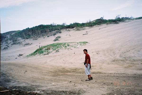 2005年環島, day5, 九棚大沙漠
